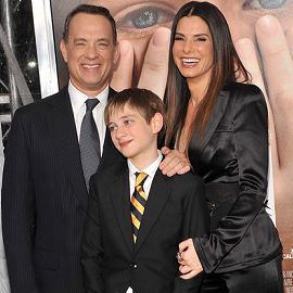 Tom Hanks, Thomas Horn and Sandra Bullock | 'Extremely Loud and Incredibly Close' NY Premiere