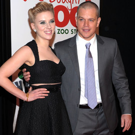 Scarlett Johansson and Matt Damon | 'We Bought A Zoo' NY Premiere