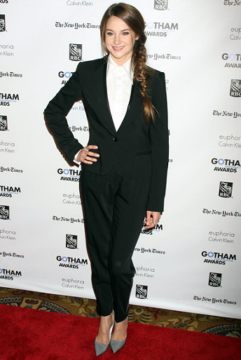 Shailene Woodley in Dolce & Gabbana | IFP's 21st Annual Gotham Independent Film Awards