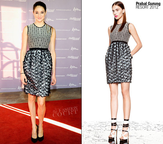 Shailene Woodley in Prabal Gurung | Power 100: Women In Entertainment Breakfast