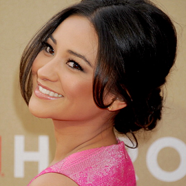 Shay Mitchell in Lela Rose | 2011 CNN Heroes: An All-Star Tribute