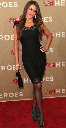 Sofia Vergara in Dolce & Gabbana | 2011 CNN Heroes: An All-Star Tribute