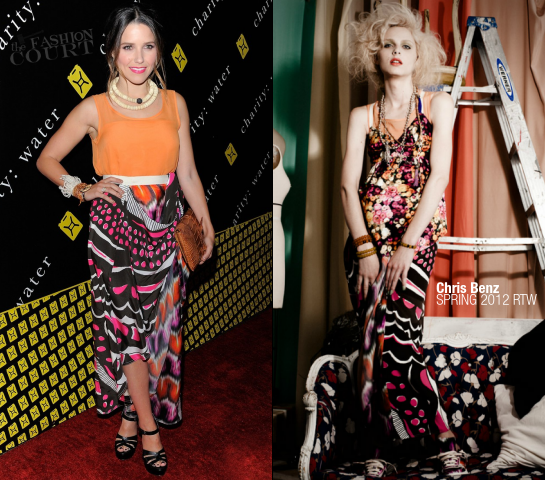 Sophia Bush in Chris Benz | 6th Annual Charity: Ball Benefiting charity:water