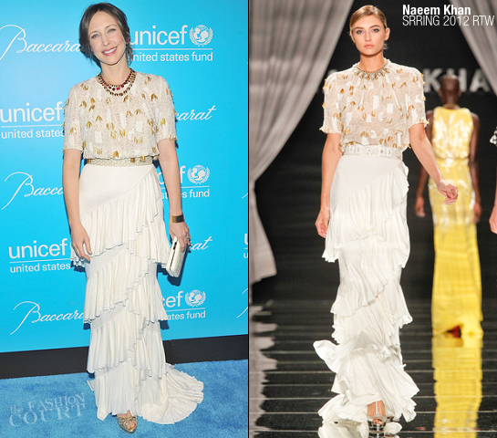 Vera Farmiga in Naeem Khan | 2011 UNICEF Snowflake Ball