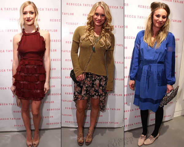 WHO WORE WHAT: The Rebecca Taylor Robertson Store Opening!