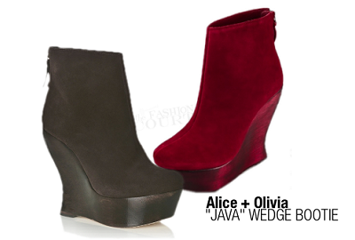 Alice + Olivia JAVA Wedge Booties