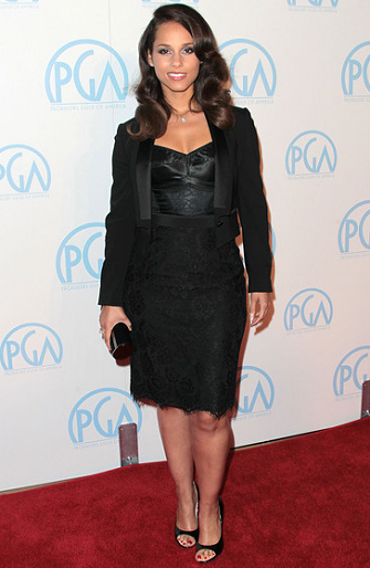 Alicia Keys in Dolce & Gabbana | 23rd Annual Producers Guild Awards