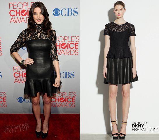 Ashley Greene in DKNY | 2012 People's Choice Awards