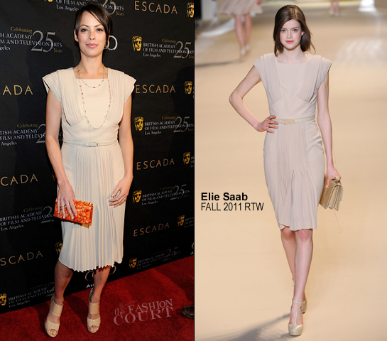 Berenice Bejo in Elie Saab | BAFTA Los Angeles' 18th Annual Awards Season Tea Party