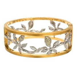 Cathy Waterman Lemon Branch Bangle