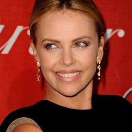 Charlize Theron in Lanvin | 23rd Annual Palm Springs International Film Festival Awards Gala
