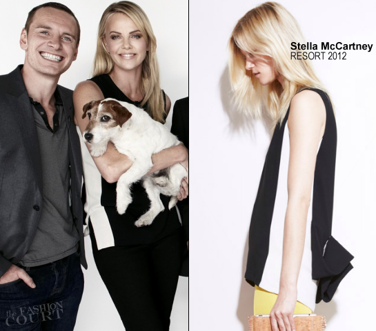 Charlize Theron in Stella McCartney | Newsweek's Oscar Roundtable