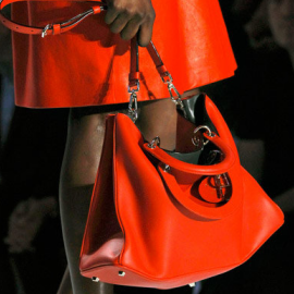 Christian Dior Leather Tote - Spring/Summer 2012