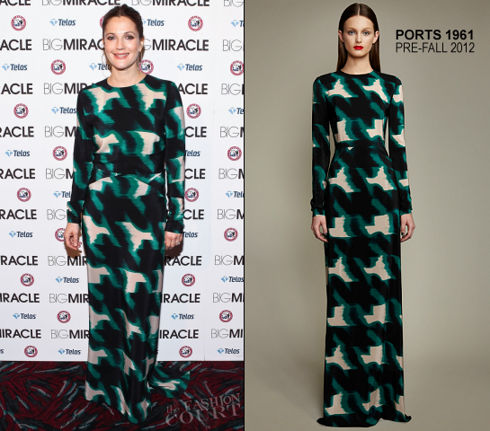 Drew Barrymore in Ports 1961 | 'Big Miracle' Washington, DC Premiere