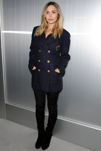 Elizabeth Olsen in Chanel | Paris Haute Couture Fashion Week - Spring 2012: Chanel Show