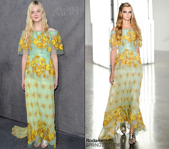 Elle Fanning in Rodarte | 2012 Critics' Choice Movie Awards