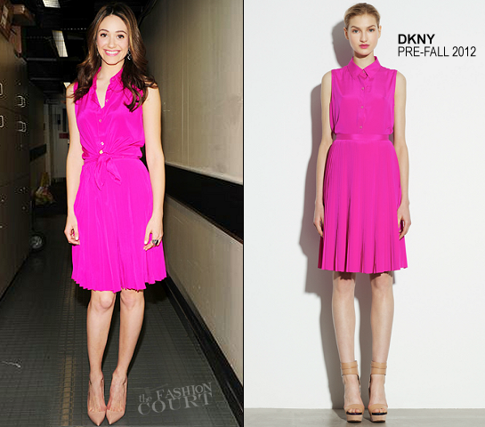 Emmy Rossum in DKNY | The 'Today' Show