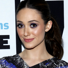 Emmy Rossum in Peter Pilotto Bravo's 'Watch What Happens Live'