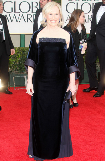 Glenn Close in Giorgio Armani | 69th Annual Golden Globe Awards