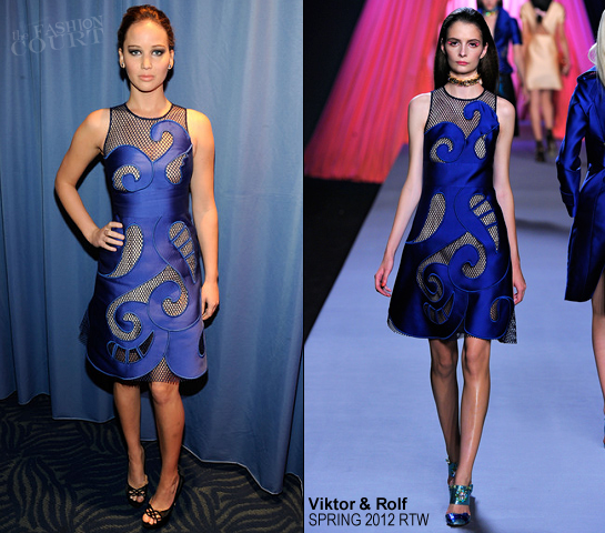 Jennifer Lawrence in Viktor & Rolf | 2012 People's Choice Awards