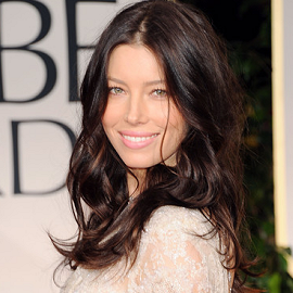 Jessica Biel in Elie Saab Couture | 69th Annual Golden Globe Awards