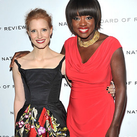 Jessica Chastain & Viola Davis | 2011 National Board of Review Awards