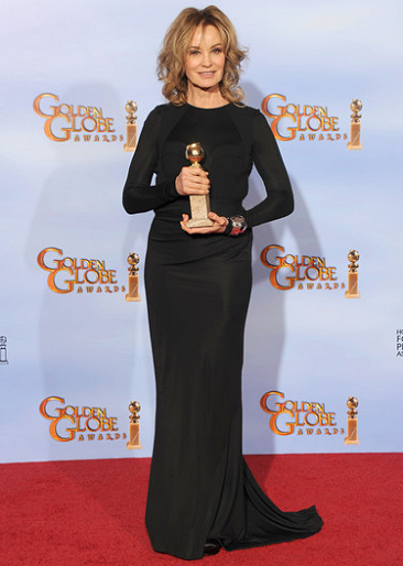 Jessica Lange in J. Mendel | 69th Annual Golden Globe Awards