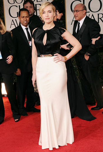 Kate Winslet in Jenny Packham | 69th Annual Golden Globe Awards