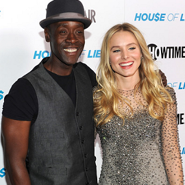 Don Cheadle & Kristen Bell | 'Hou$e Of Lie$' LA Screening