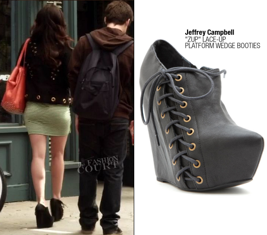 Lucy Hale as Aria Montgomery in Jeffrey Campbell | 'Pretty Little Liars' - Episode x14