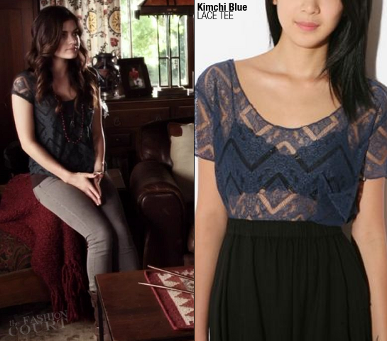 Lucy Hale as Aria Montgomery in Kimchi Blue | 'Pretty Little Liars' - Episode x14