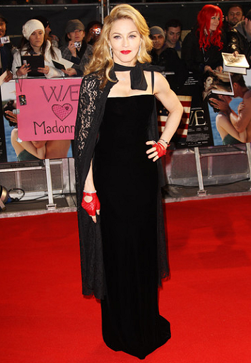 Madonna in Dolce & Gabbana | 'W.E.' London Premiere
