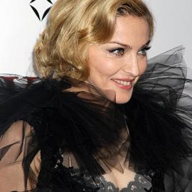 Madonna in Marchesa | 'W.E.' NYC Premiere