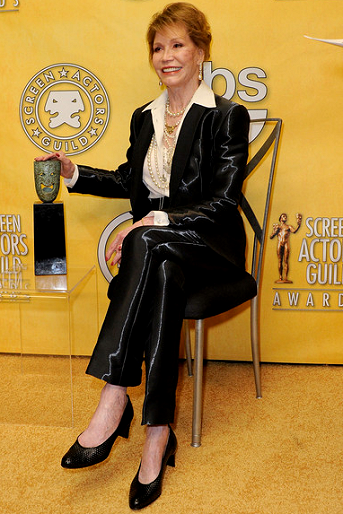 Mary Tyler Moore in Armani Prive | 2012 Screen Actors Guild Awards