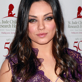 Mila Kunis in Prabal Gurung | St. Jude's Children's Research Hospital 50th Anniversary