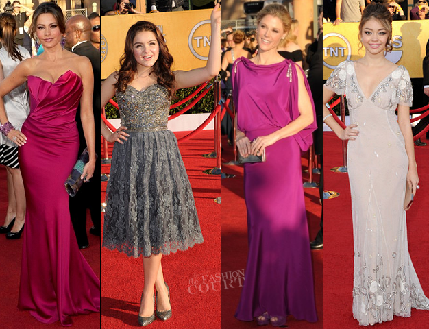 2012 SAG Awards: The 'Modern' Ladies Get Glam!
