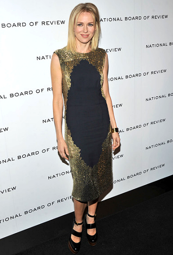 Naomi Watts in Stella McCartney | 2011 National Board of Review Awards