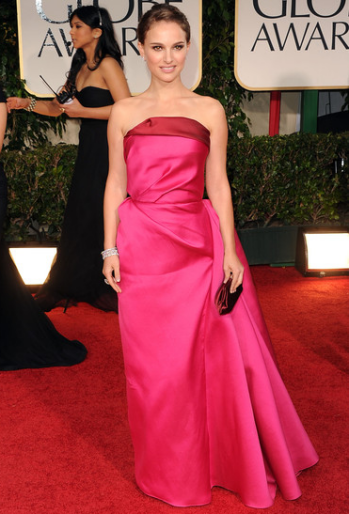 Natalie Portman in Lanvin | 69th Annual Golden Globe Awards