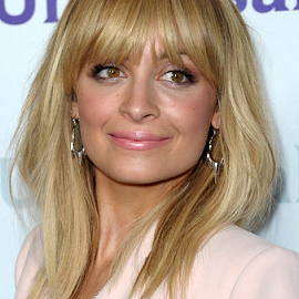Nicole Richie in Antonio Berardi | NBC Universal 2012 Winter TCA Press Tour All-Star Party