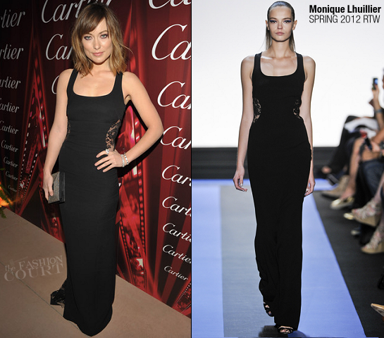 Olivia Wilde in Monique Lhuillier | 23rd Annual Palm Springs International Film Festival Awards Gala