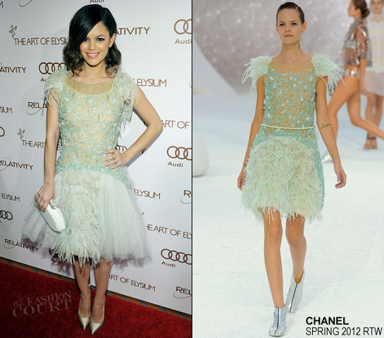 Rachel Bilson in Chanel | The Art Of Elysium's 5th Annual Heaven Gala