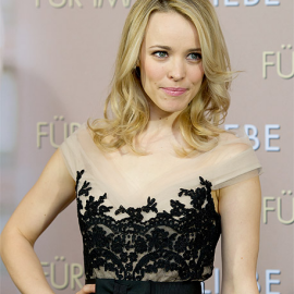 Rachel McAdams in Collette Dinnigan | 'The Vow' Munich Photocall