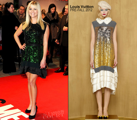 Reese Witherspoon in Louis Vuitton | 'This Means War' London Premiere