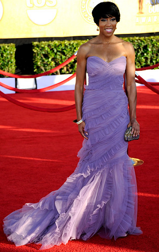 Regina King in Alberta Ferretti | 2012 Screen Actors Guild Awards