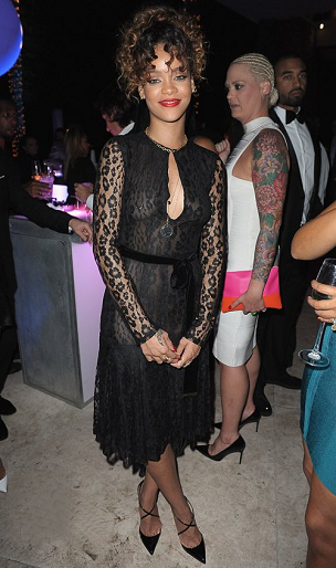 Rihanna in Tom Ford | Sean 'Diddy' Combs Hosts CIROC The New Year 2012