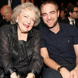 Betty White & Robert Pattinson | 2012 People's Choice Awards