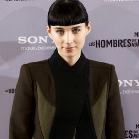 Rooney Mara in Givenchy | 'The Girl With The Dragon Tattoo' Madrid Photocall