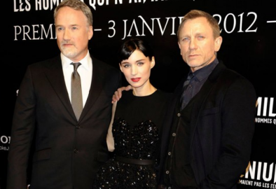 David Fincher, Rooney Mara, Daniel Craig | 'The Girl with the Dragon Tattoo' Paris Premiere