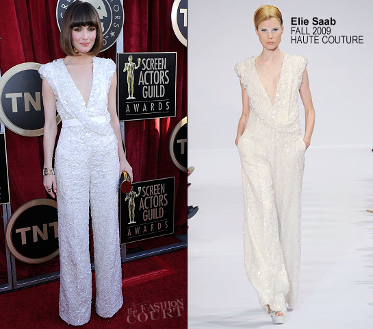 Rose Byrne in Elie Saab Couture | 2012 Screen Actors Guild Awards