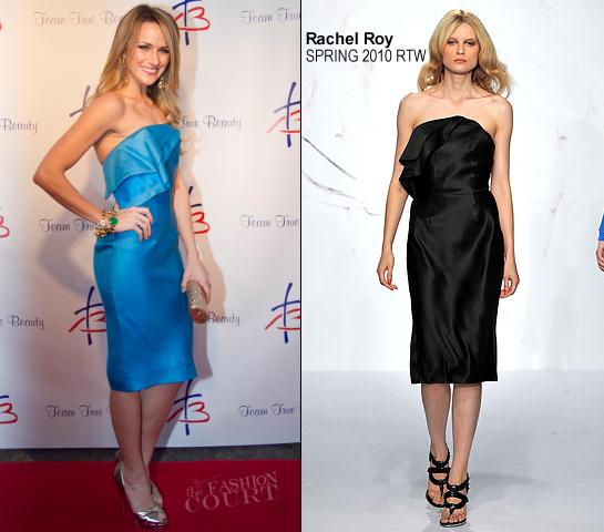 Shantel VanSanten in Rachel Roy | Team True Beauty: A Night of Music & Stars